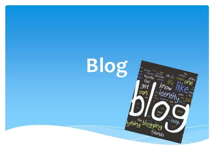 Šta je blog?
