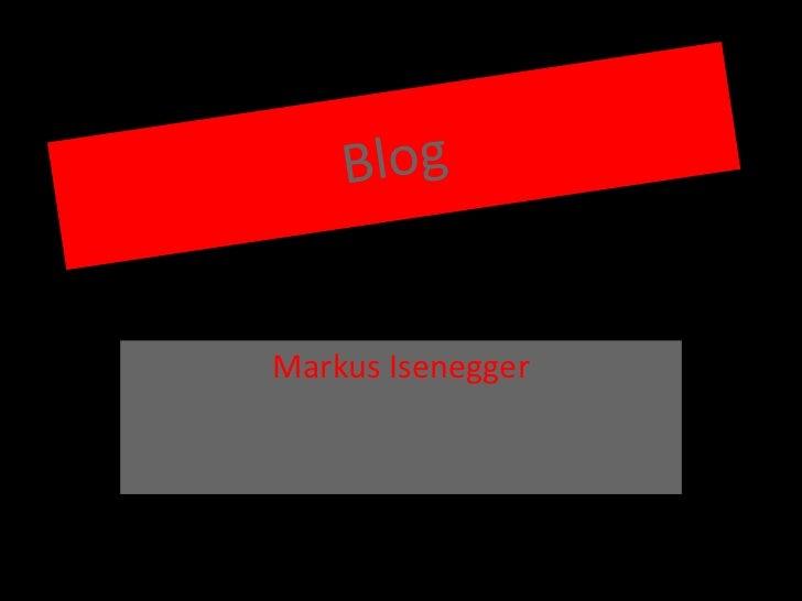 Markus Isenegger