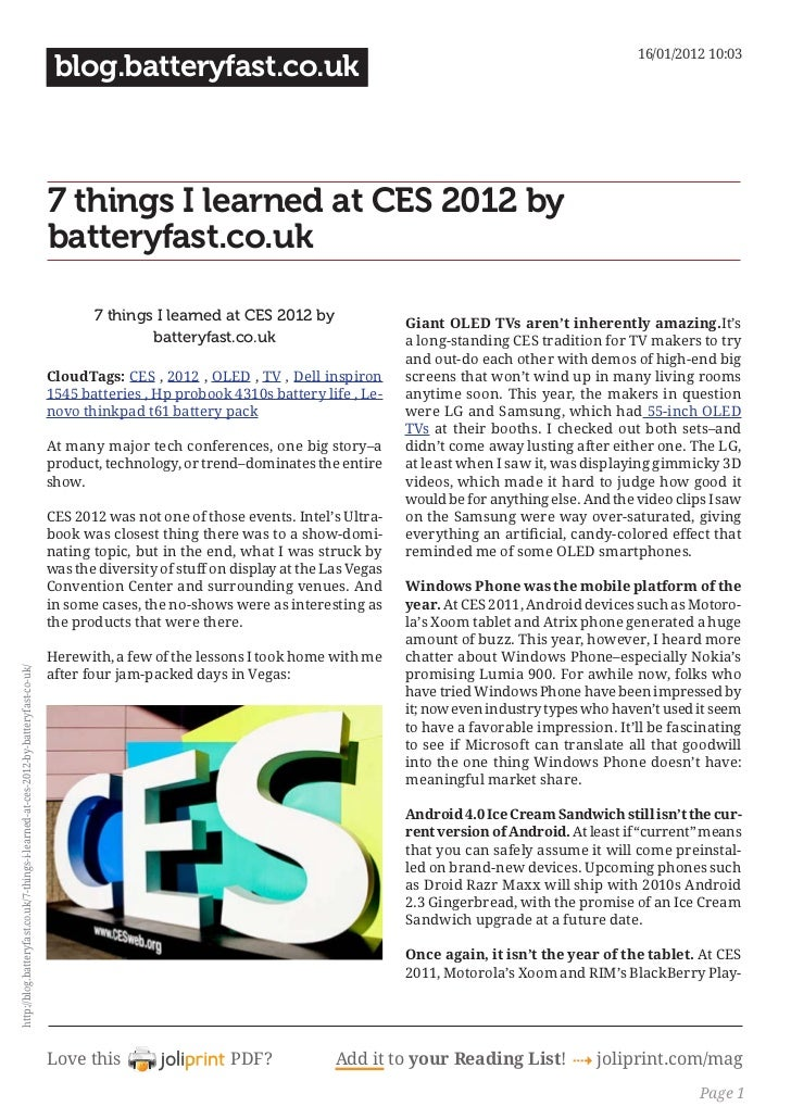 Blog.batteryfast.co.uk 7-things-i-learned-at-ces-2012-by-batteryfast-co-uk