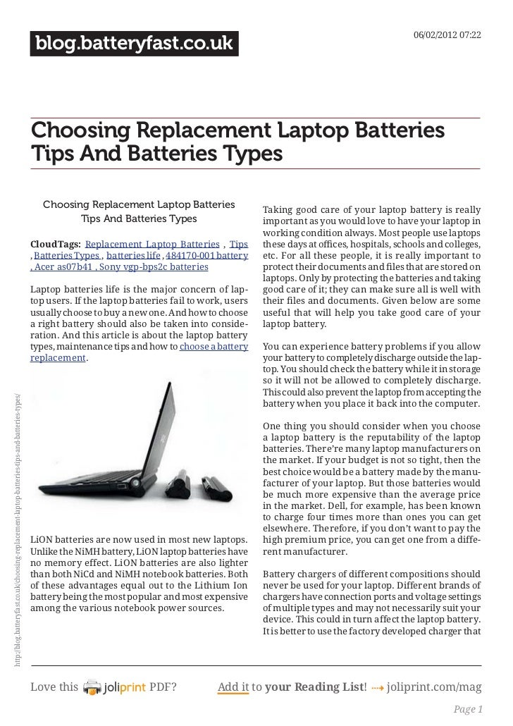 Blog.batteryfast.co.uk choosing-replacement-laptop-batteries-tips-and-batteries-types