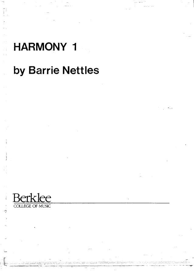 Blog berklee college of music - harmony 1