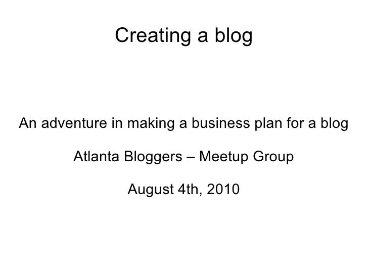 Need Business Plan Written