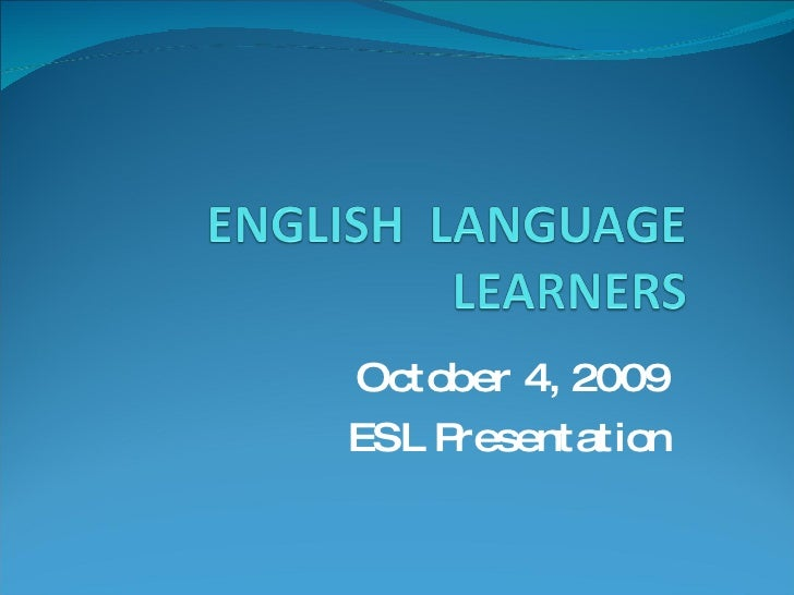 Blog   Esl Power Point Presentation