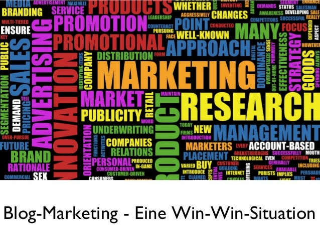 Blog-Marketing - Eine Win-Win-Situation