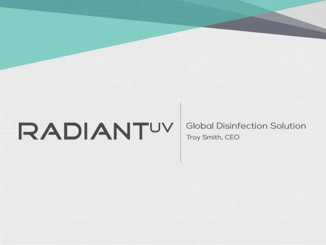 Radiant UV - Pitch Deck