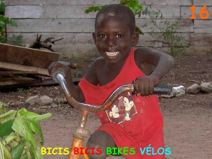16 BICIS  BICIS  BIKES   VÉLOS