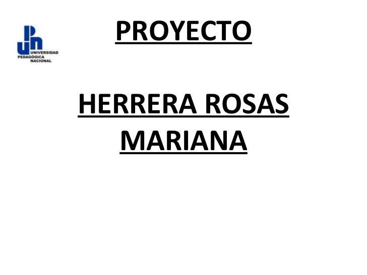 PROYECTO HERRERA ROSAS MARIANA