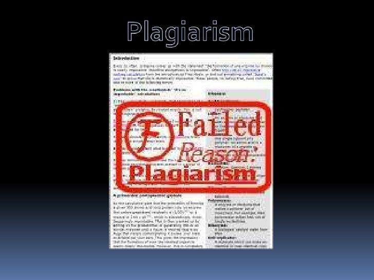 Plagiarism<br />