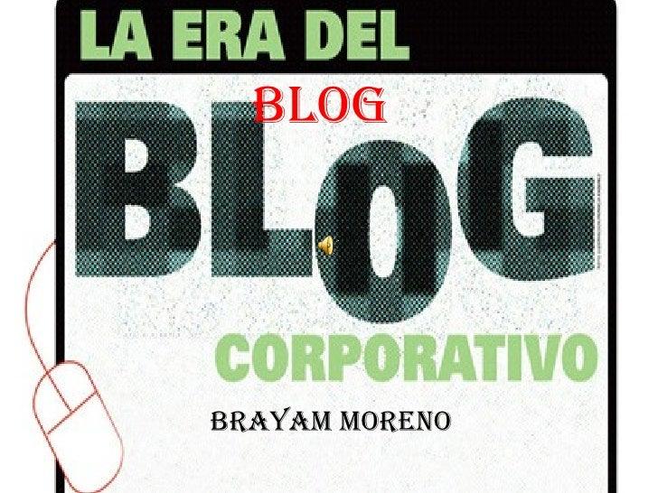 Brayam moreno blog