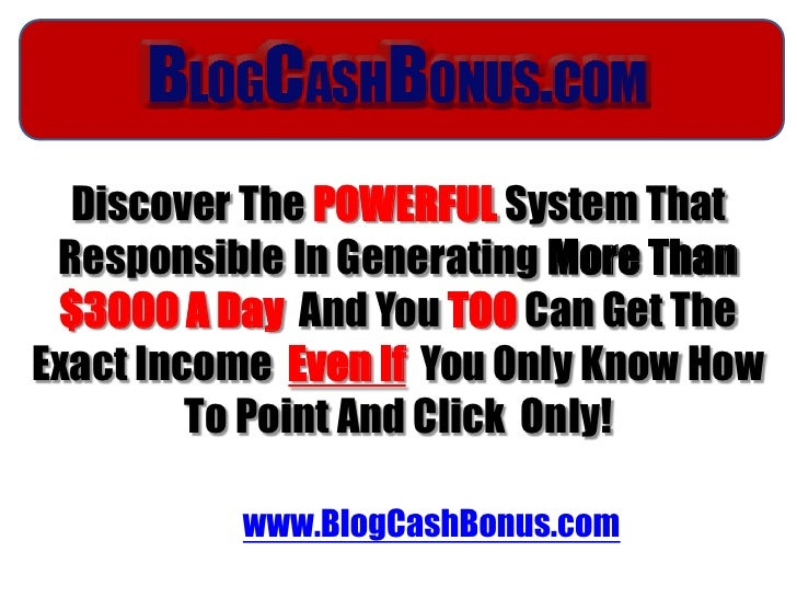 Discover ThePOWERFULSystem That Responsible In GeneratingMore Than $3000 A Day And YouTOOCan Get The Exact Income Ev...