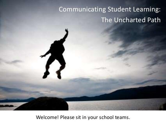 Communicating student pilot presentation