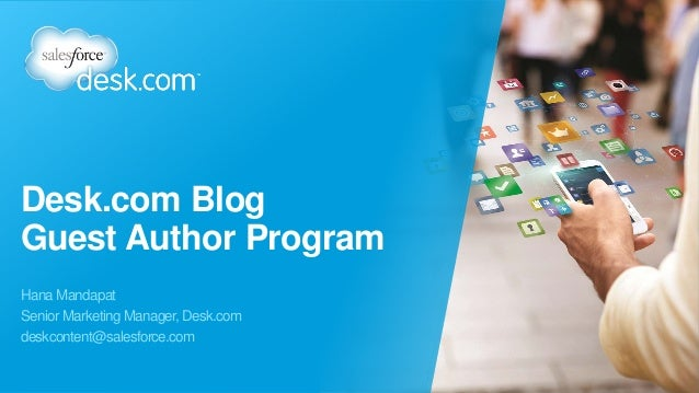 Desk.com Guest Blogger Program Overview