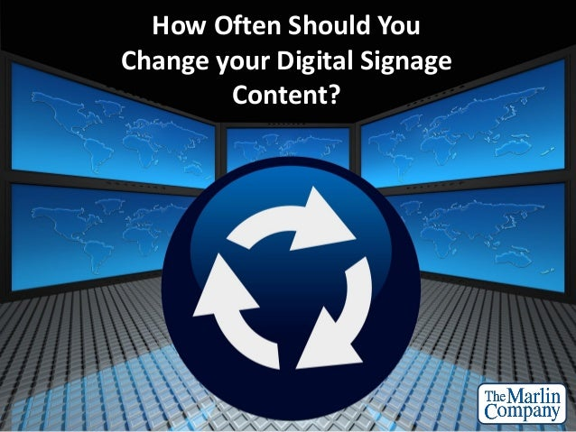 How often should you change your digital signage content for How often should u change your mattress