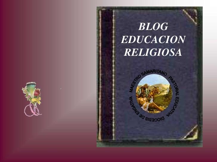 BLOG EDUCACION RELIGIOSA