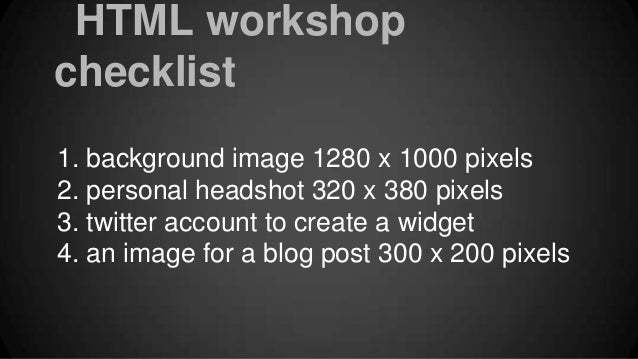Blog HTML example for IML 295