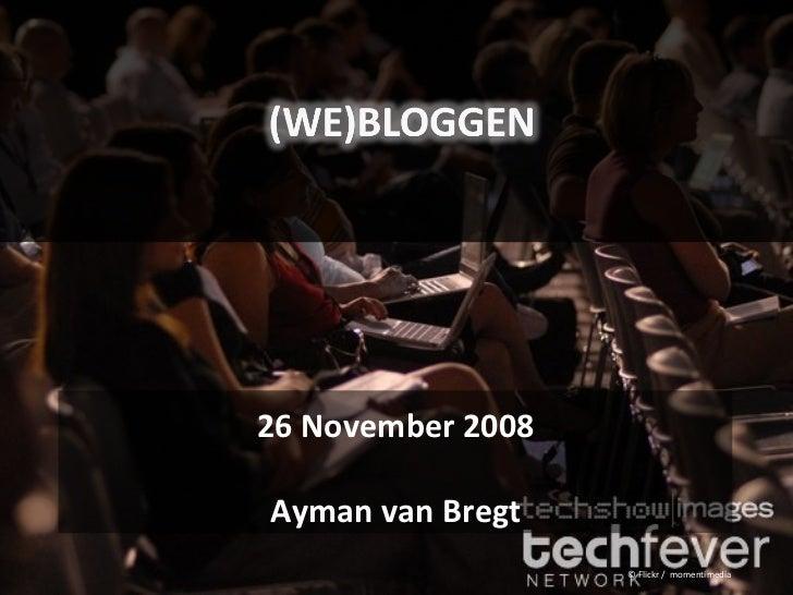 (We)bloggen