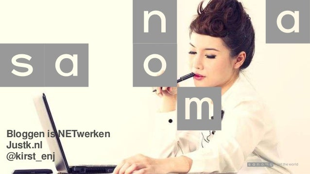 Bloggen is NETwerken