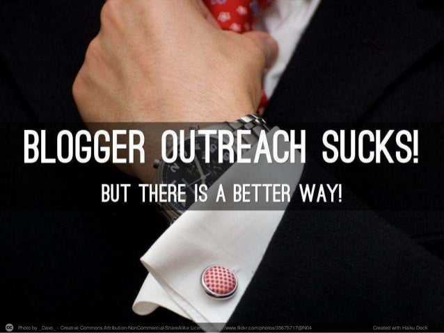 Why Most Blogger Outreach Sucks and How to Fix it