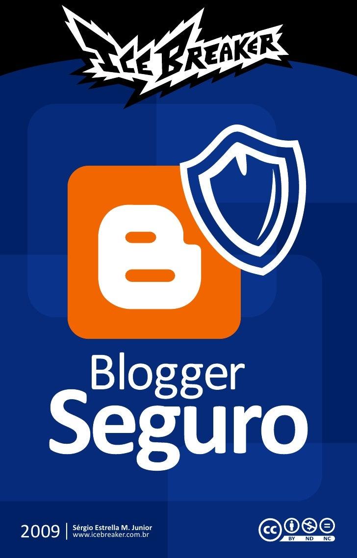 Blogger seguro