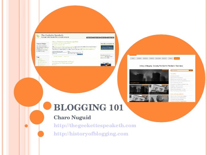 How to Blog (from a non-problogger point of view)