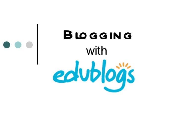 Blogging   with