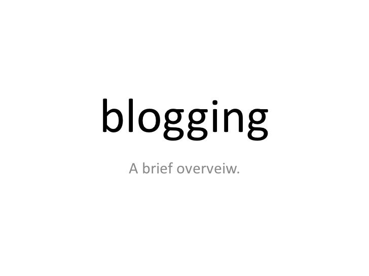 Izrael Blogging Lecture #1