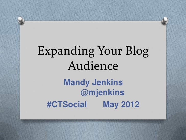 Expanding Your Blog Audience