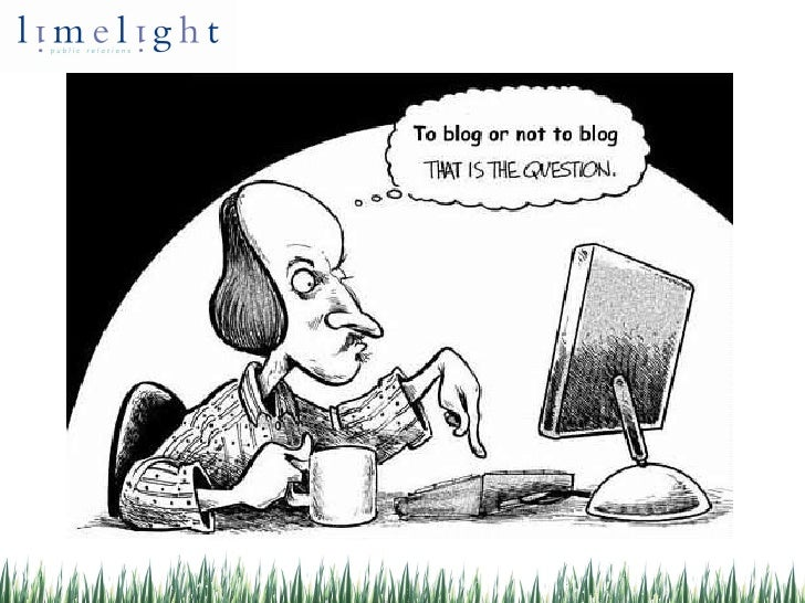 Blogging For Business; A PR's Guide
