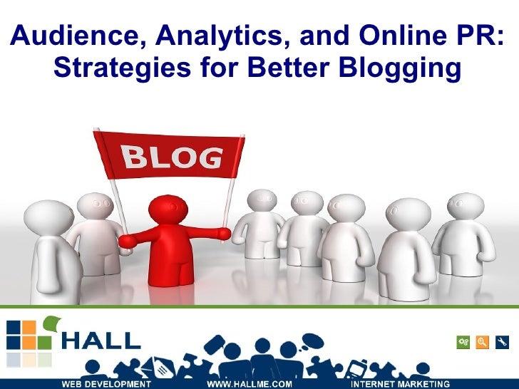 Blogging Intermediate
