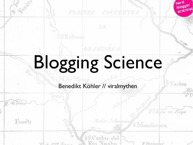 Blogging ScienceBenedikt Köhler // viralmythen