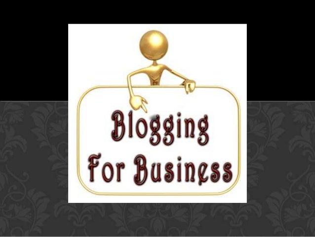 Blogging: The New Economy