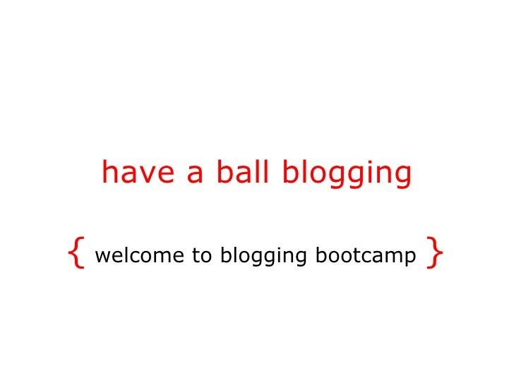 Blogging class (1)