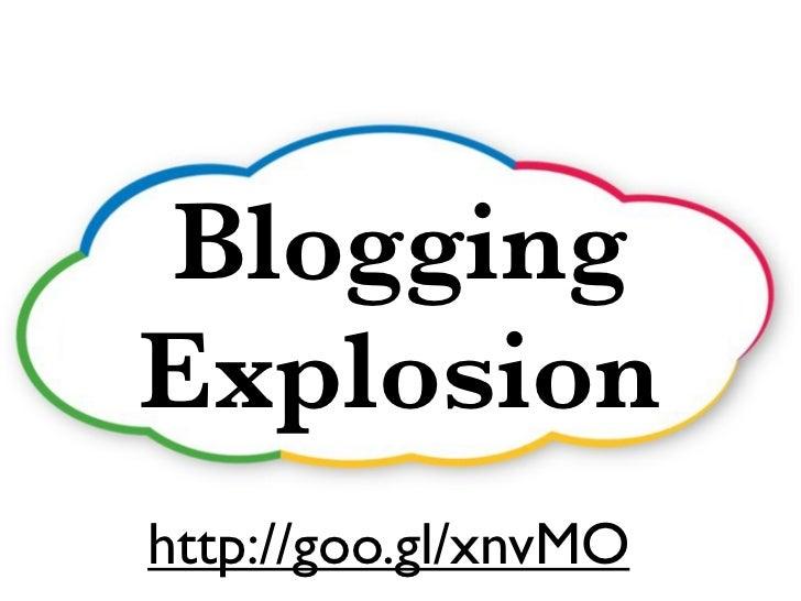 BloggingExplosionhttp://goo.gl/xnvMO