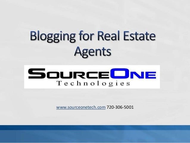 Blogging for agents