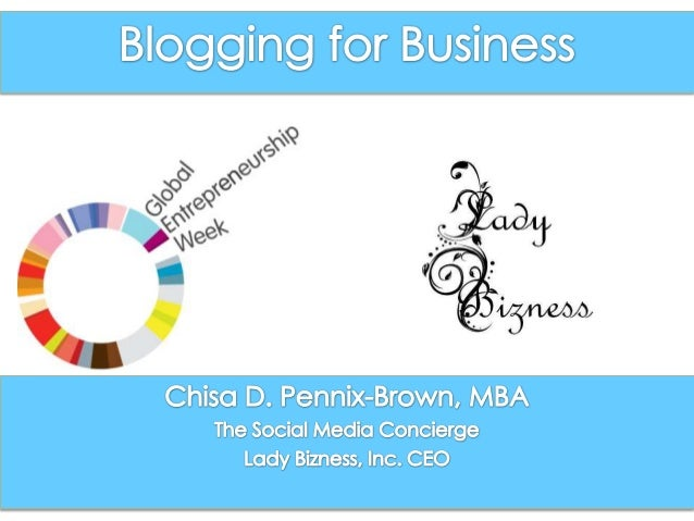    Turn off or Vibrate Cell Phones   Facilitator       Chisa D. Pennix-Brown, MBA   Name & Business Industry       Th...