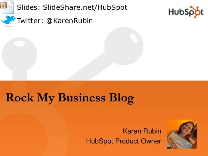 Rock Your Business Blog