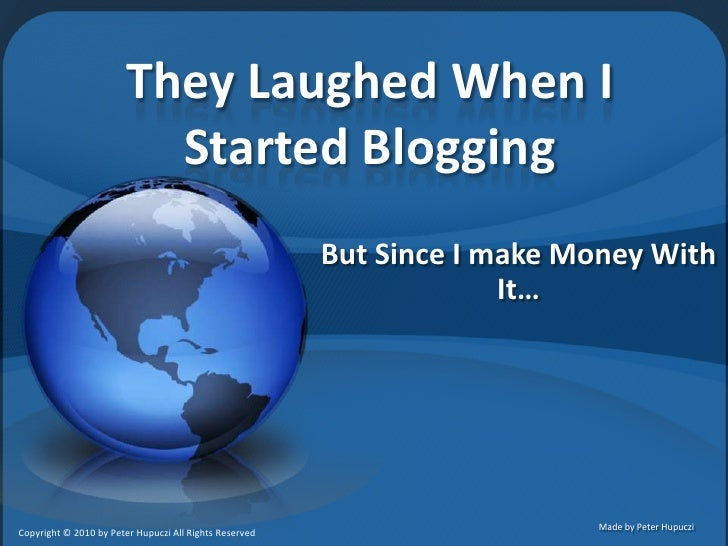 Blogging For Gold - Discover What's Beyond Google Adsense