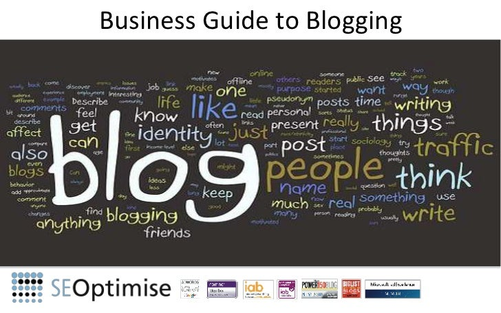 Business Guide to Blogging<br />