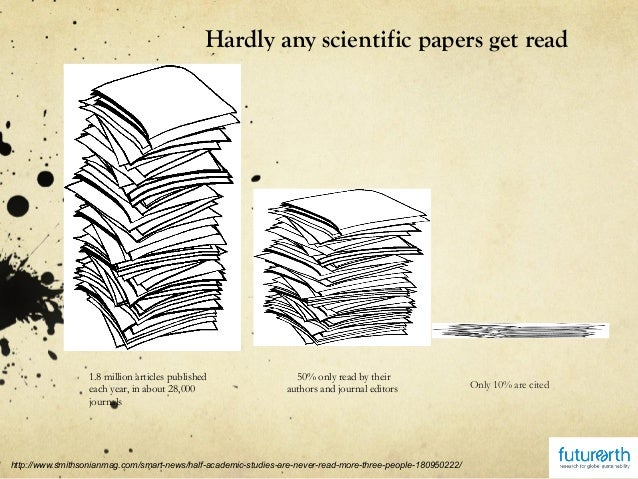 how to write a scientific discussion paper