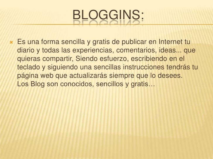 Bloggins