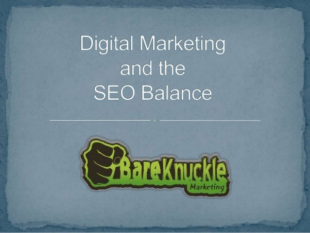 Finding the SEO Balance