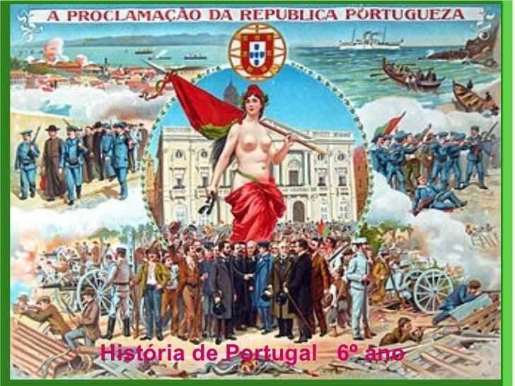 História de Portugal  6º ano