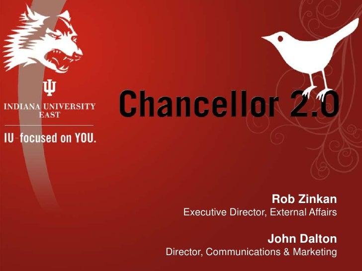 BlogIndiana Presentation: Chancellor 2.0
