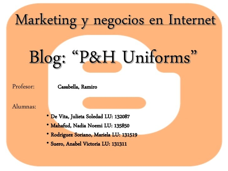 Blog marketing y negocios en internet