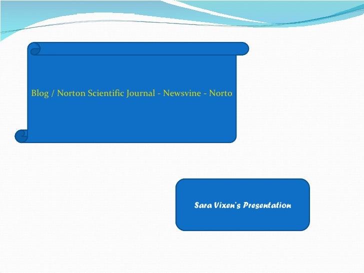 Blog / Norton Scientific Journal - Newsvine - Norton Scientific Scam by Gerald Youngster