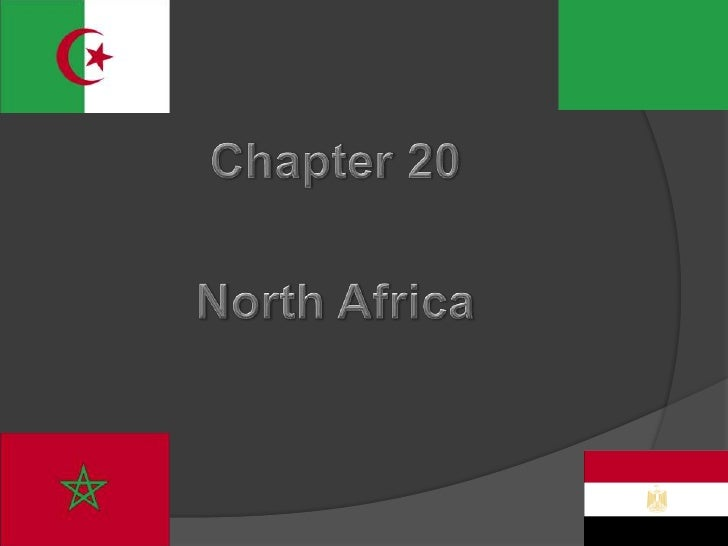 Chapter 20<br />North Africa<br />