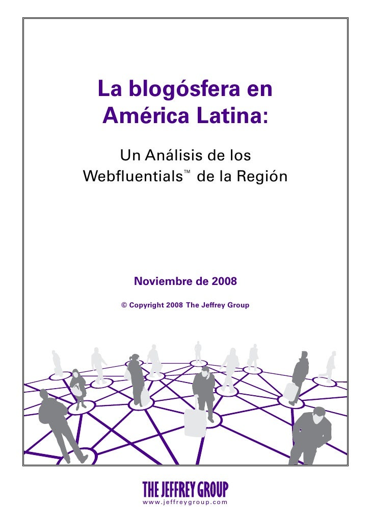 Blogosfera latinoamerica2008