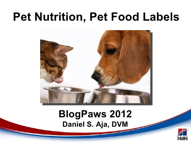 Dr. Dan Aja Luncheon Talk: Tips on Pet Nutrition and Pet Food Labels