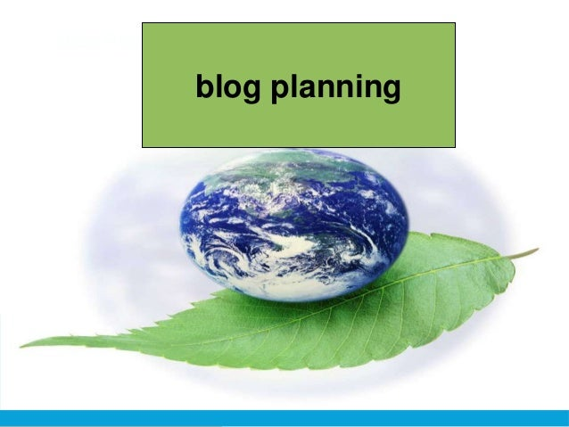 Blog Planningblog planning