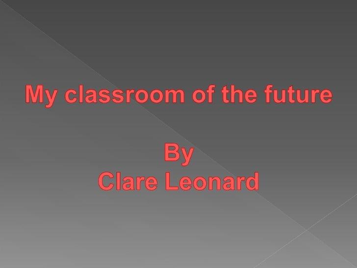 My ideas for a classroom